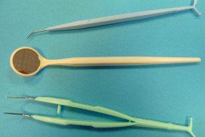 sterile dental exam set