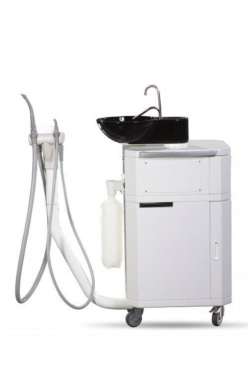 Elexa Mobile Aspina Dental Suction Unit