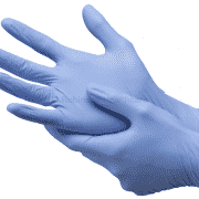 Nytraguard Bluple Nitrile Gloves - Large X 2000 (200 Gloves per Carton X 10 Cartons)