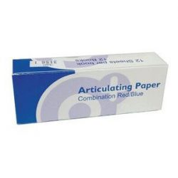 Articulating Paper Thick Blue 12 Books of 12 sheets part of Impression Category