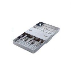 Push Bar Instrument Tray - 7  Yellow