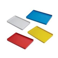 Plastic Instrument Tray without rack (Yellow