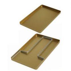 Aluminium Instrument Tray Cover Mini Silver part of Instrument Trays Category