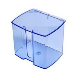 Serviette Bibs Dispenser- transparent Blue