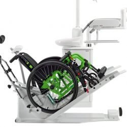 Libra Dental Unit Wheel Chair Lifted