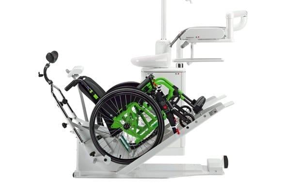 Libra Dental Unit Wheel Chair Lifted
